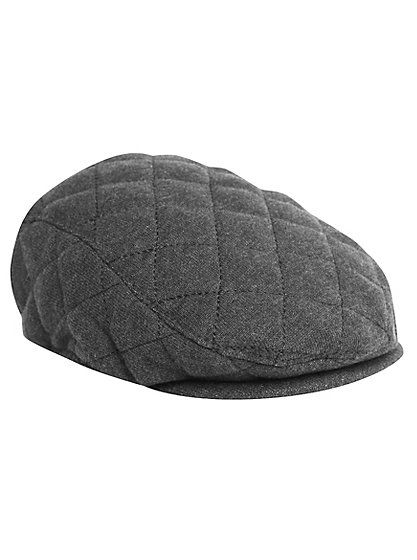 Your little one will be channeling classic style with this smart and trendy quilted flat cap. Perfect for keeping the sun from their face or accessorising wi...