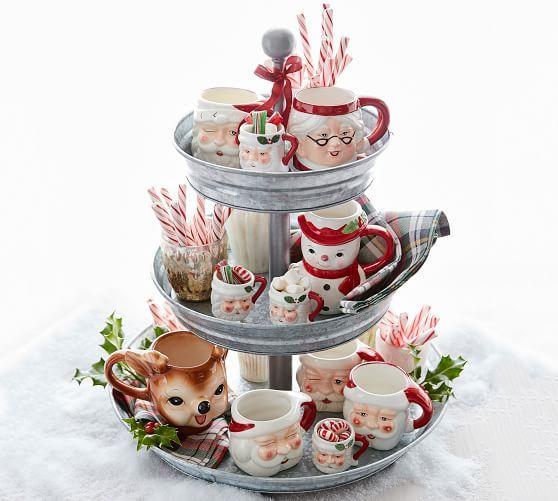 Cheeky Reindeer Figural Mug - Benefiting Give a Little Hope Campaign