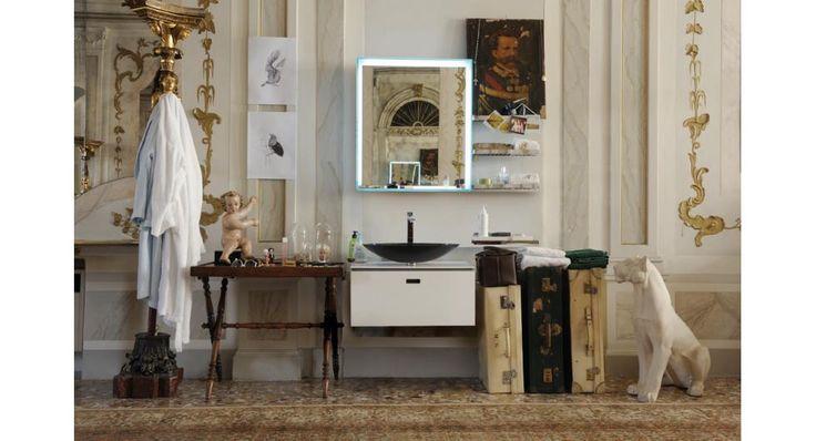 Base per lavabo Ciacole in mattstone. LineaBeta.