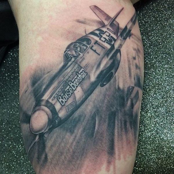 #tattoo #tattoos #mustangp51 #mustang #p51 #plane #airplane #fighter #ink #blackandgrey #idaho #boise #imperialbodyart #imperialboise #imperial #imperialtattoo #imperial_body_art #imperial_tattoo