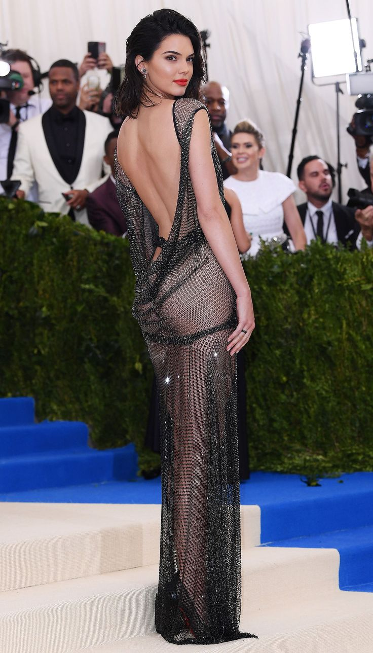 Kendall Jenner Attends the 2017 Met Gala in a Thong