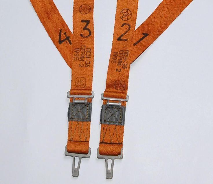 Russian PSU 36 Orange Belts for Parachute Harness Ejection Seat K 36 New | eBay