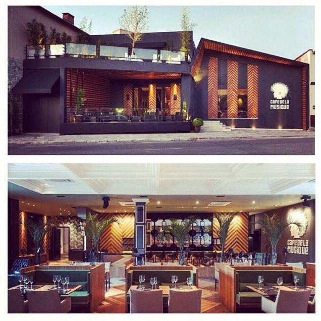 Fachada e interior, Café de Lá Musique, food restaurante restaurant