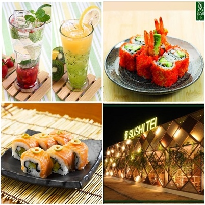 Taste Fresh and Delicious Sushi at Sushi Tei, Up to 45% Off!    disdus.com/promo.php