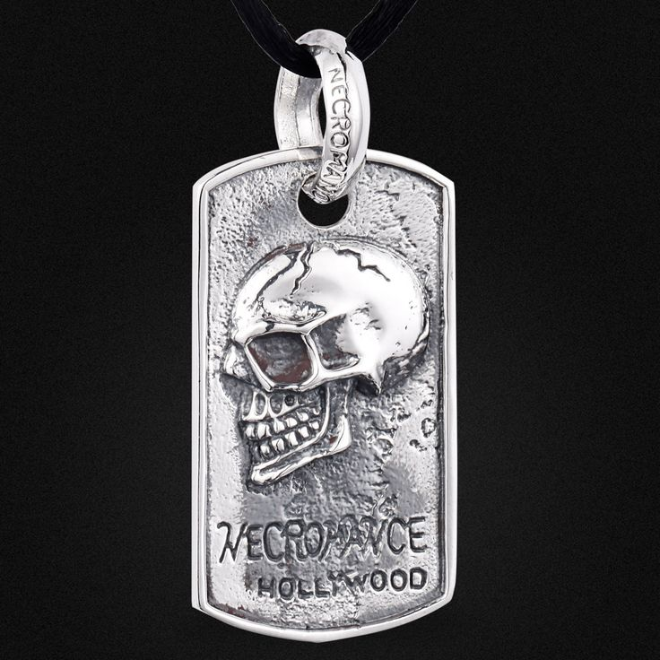 Vintage jewelry wholesale 925 Sterling Silver Skull Pendant Silver in the men's brand new spot A0632 #Affiliate