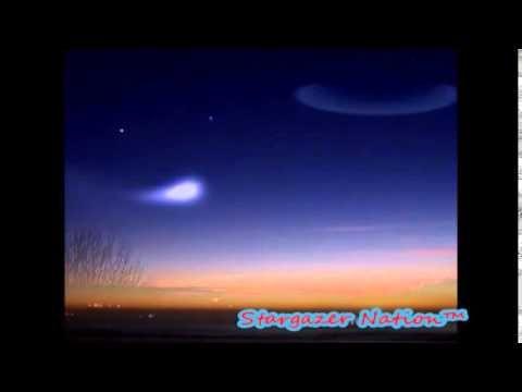 U.F.O - Up in the Sky - Strange Spiral Phenomenon Caught on Camera