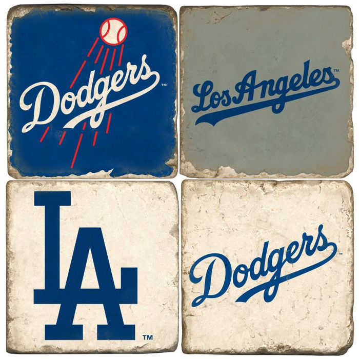Los Angeles Dodgers Logo Drink Coasters Fresh Style