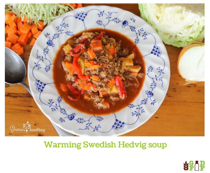 Warming Swedish Hedvig soup
