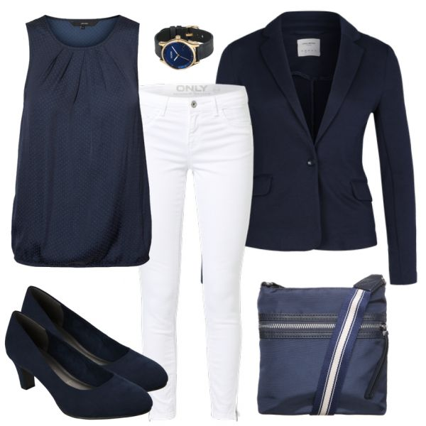 Business Outfits: BlueMonday at FrauenOutfits.de