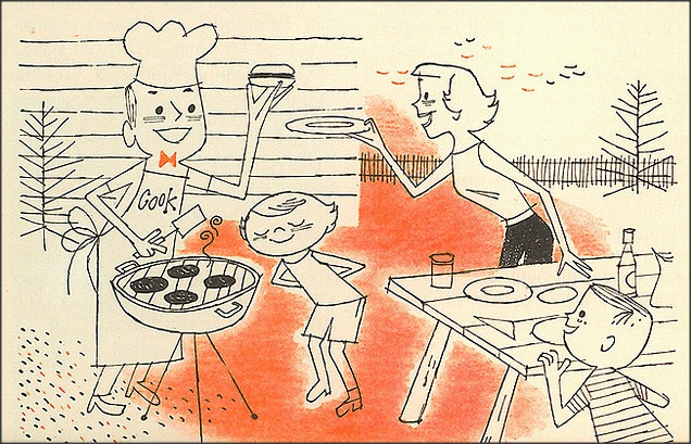 Home Meal Planner 1957