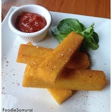 polenta fries at the grizzly peak in ann arbor
