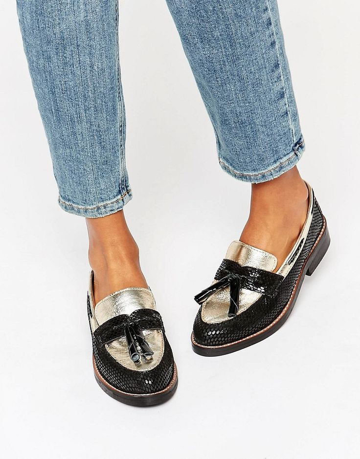 Image 1 of ASOS MYSTIC Leather Loafers