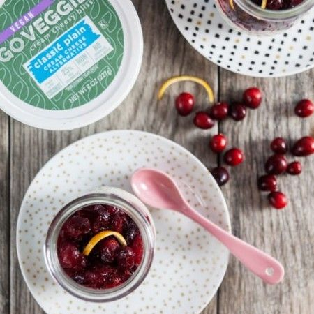 #HealthierCheese #GotItFree Loving GO VEGGIE products, especially their white cheddar snack bars!!  See how delicious GO Veggie! cheese alternatives can be with our Dairy-Free Cranberry Cheesecake Parfaits. Find cheesy bliss with GO Veggie!. The cheese-free cheese for people who love cheese.