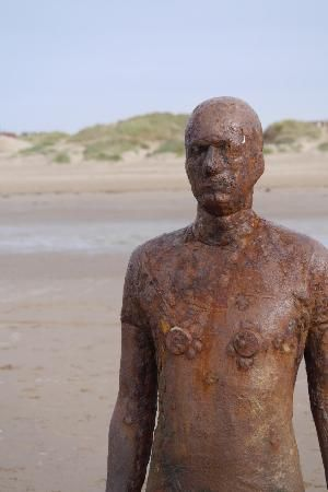 Photo of Antony Gormley's Another Place
