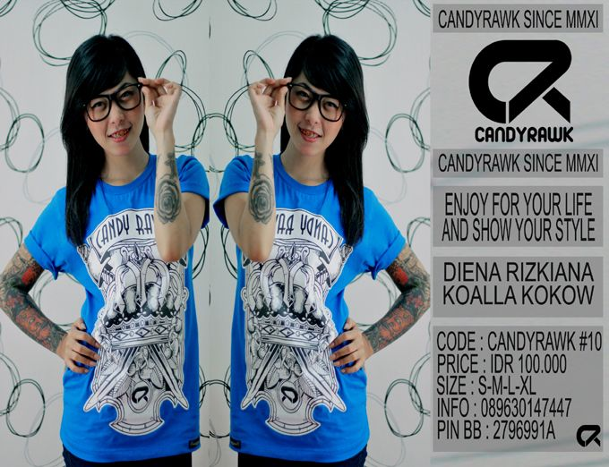 #39 | CANDYRAWK #10 | IDR 100.000 | SOLD OUT |