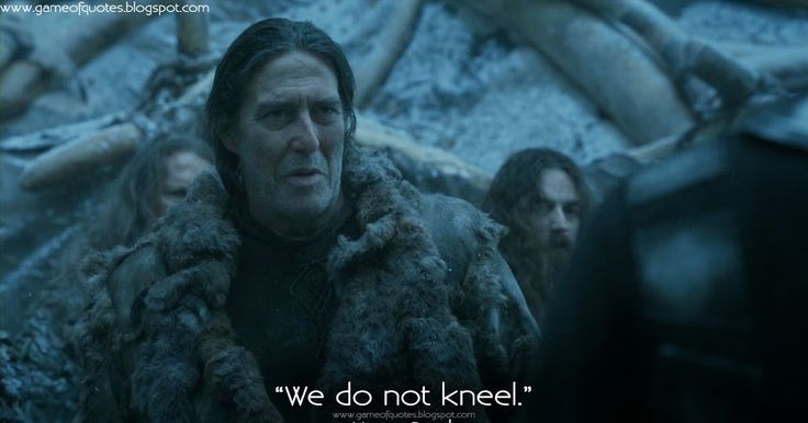 """""""Bending the knee"""" is a formal act of submission to a king, queen or lord, a recognition of authority and a demonstration of fealty. We do not kneel, because united we stand."""