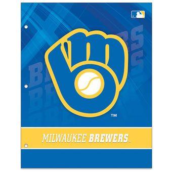Milwaukee Brewers Two-Pocket Portfolio