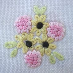 English embroidery stitch - Buscar con Google