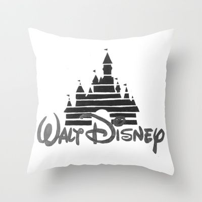 Disney Castle  Throw Pillow by Elyse Notarianni - $20.00