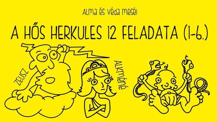 A hős Herkules 12 feladata - 1-6.