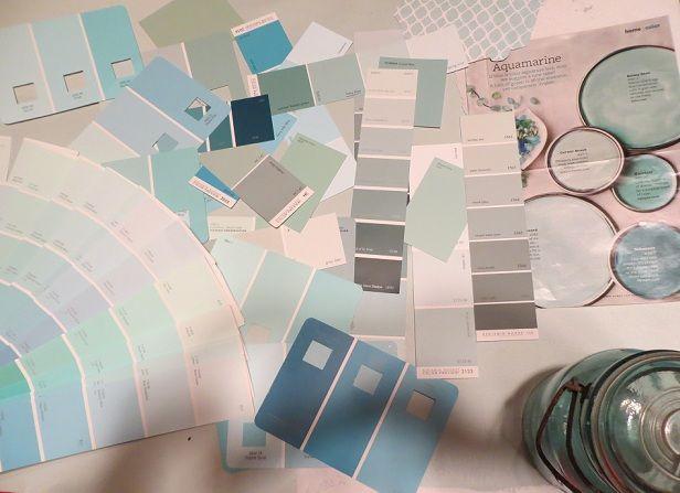 Best Paint Colors Images On Pinterest Paint Colors Benjamin - Benjamin moore blue paint color chart