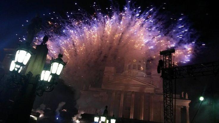 Happy New Year from Helsinki, Finland!
