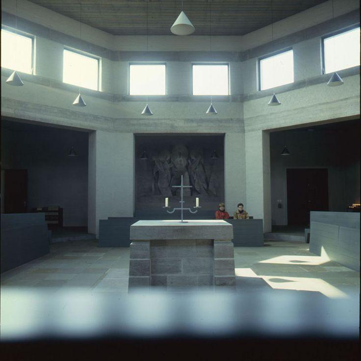 Roosenberg Abbey in Waasmunster, Belgium, 1972–1974 by Dom Hans Van der Laan