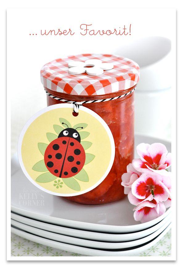 Erdbeer-Bananen-Marmelade