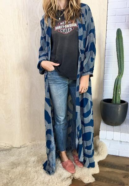 Laurel Maxi Kimono Dress