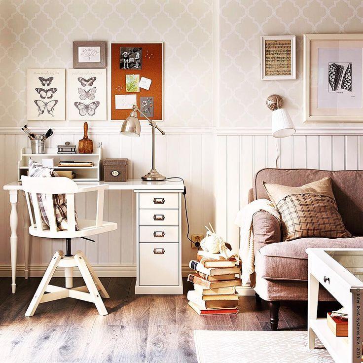 25 best ideas about schreibtisch landhausstil on. Black Bedroom Furniture Sets. Home Design Ideas