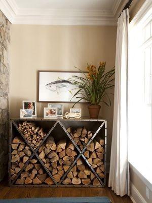 Best 20+ Indoor firewood storage ideas on Pinterest | Firewood ...