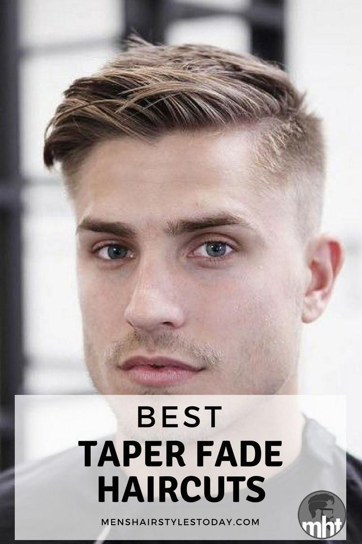 Mens haircut line best taper fade haircuts  cool tapered sides low taper high taper