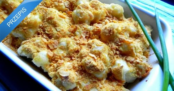 Kalafior zapiekany w mozzarelli