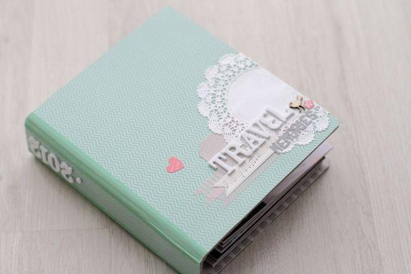 "Mini album ""Travel Memories"" by Jees @2peasinabucket"