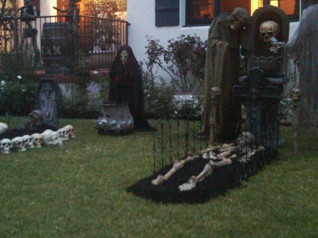 Scary Outdoor Halloween Decorations DIY | Small Size Of Homemade Halloween  Porch Decorations Homemade Halloween .