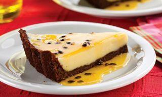 Torta trufada de maracujá
