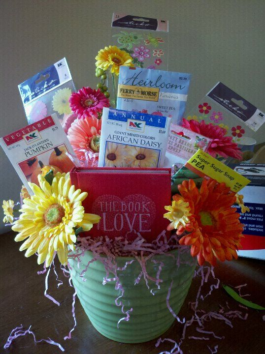 Bridal Shower Gift Baskets For Guests : ... Gift/Prizes for Guests on Pinterest Cupcake gift baskets, Showers