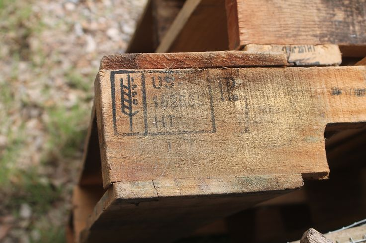 Making Shift: Scavenging Heat-Treated Pallets