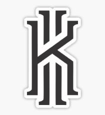 Kyrie Irving White Window Decal