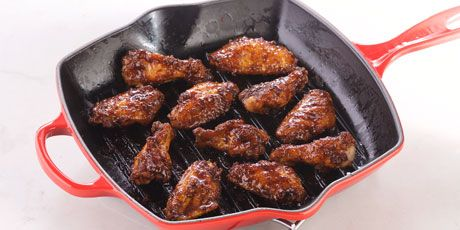 Maple BBQ Chicken Wings