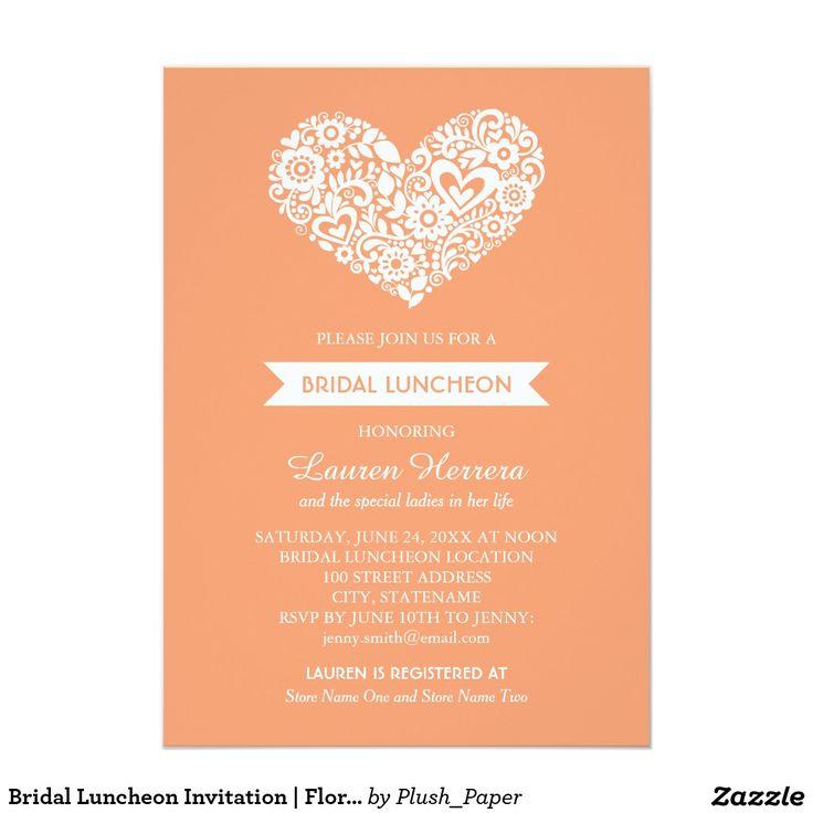 169 best HEART WEDDING Invitations images on Pinterest ...