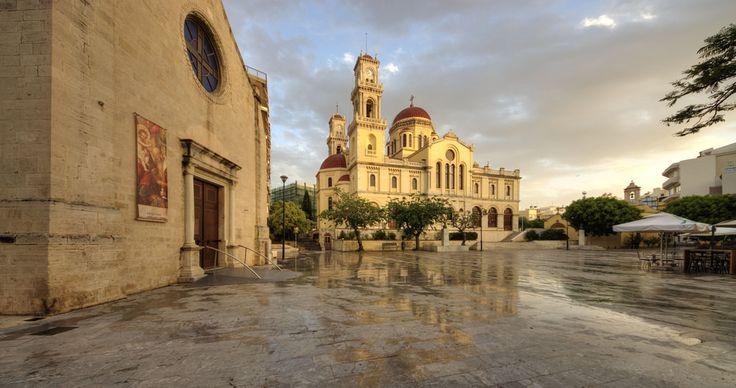 Héraklion, la cathédrale Saint-Minas