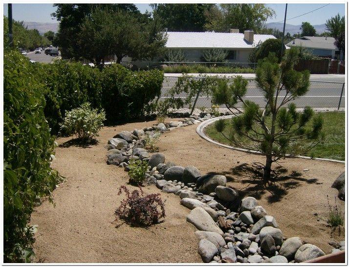 Dry River Bed Landscape Ideas