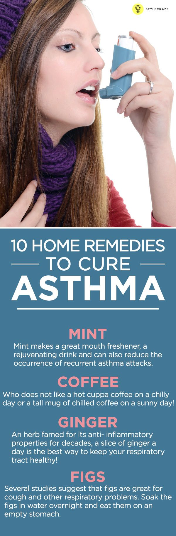 Breathing is life. Breathing is something most of us take for granted. Not an Asthma patient but! If you need some effective home remedies for ...