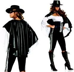Sexy Zorro Costume review at Kaboodle