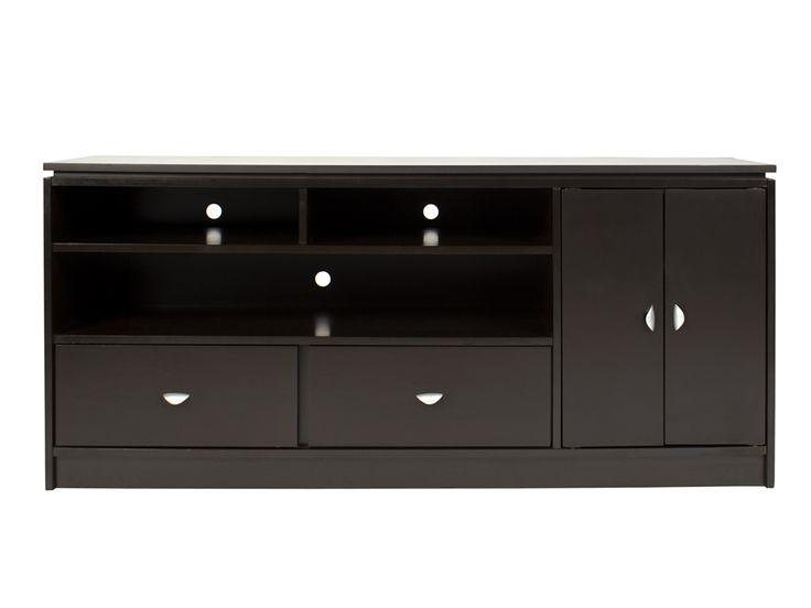 Mueble para tv chocolate contempor neo liverpool es parte - Muebles para la tele ...