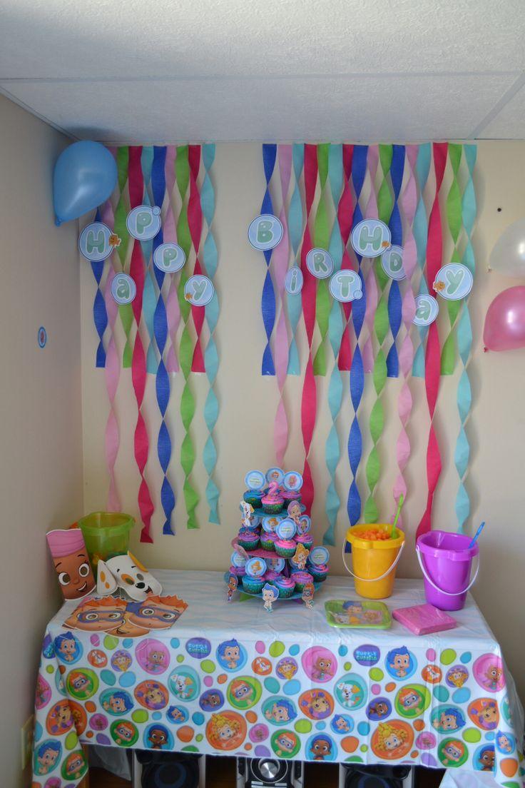 Bubble Guppies decorations
