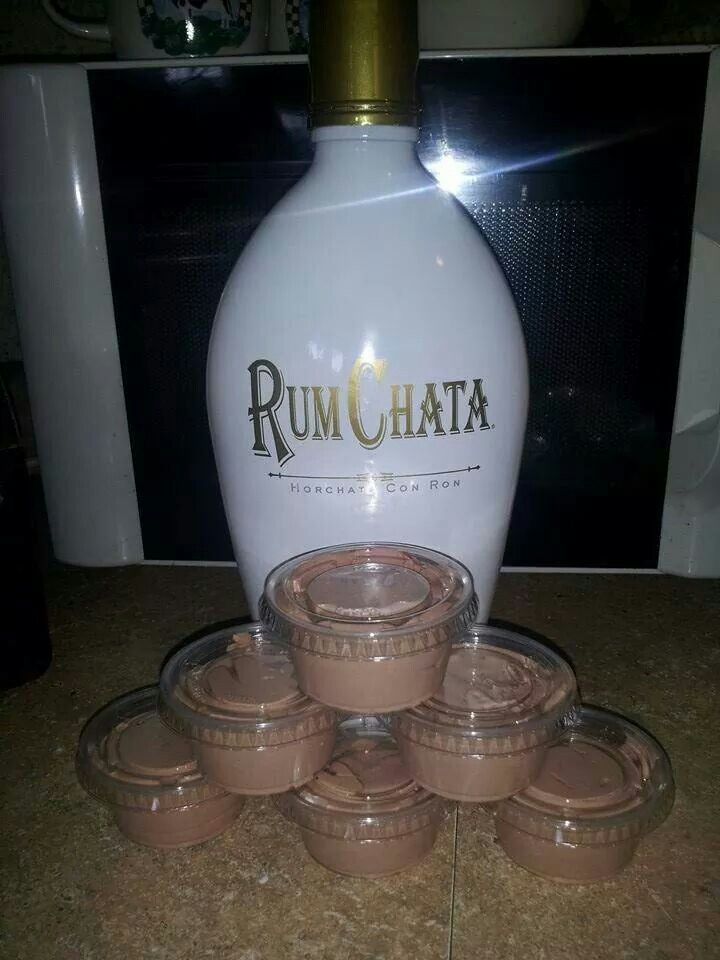 RUM CHATA ! Yummy (1)4oz. pk. instant chocolate pudding (2)1c.milk (3)1c rum chata (4)8oz container cool whip