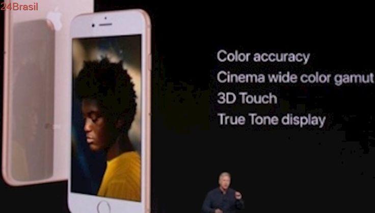 Lançamento   Corpo de vidro e sem tela infinita: Apple apresenta o iPhone 8