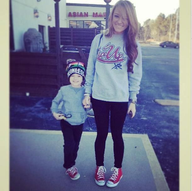 Maci & Bentley ! Her hair is sooo pretty